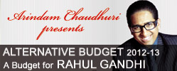arindam chaudhuri on budget